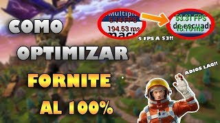 HOW TO REMOVE ALL LAG FROM FORTNITE!!! 100% REAL NON-FAKE