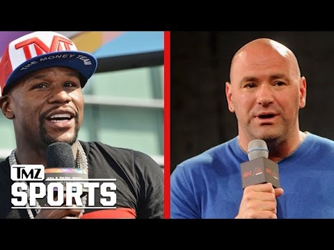 """Floyd Mayweather Attacks Dana White: """"You used to carry my bags!"""" 