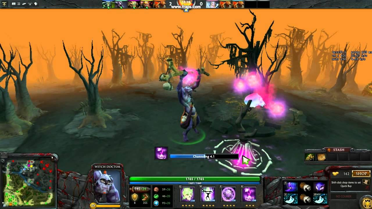 dota 2 witch doctor look at it go audio mod youtube
