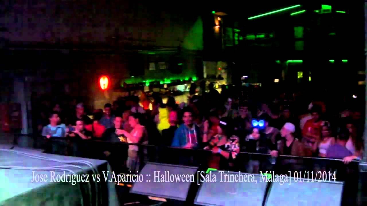 Jose rodriguez vs v aparicio halloween 01 11 14 for Sala trinchera