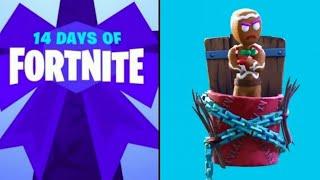 Unlocking the 25th December 14 days of fortnite reward