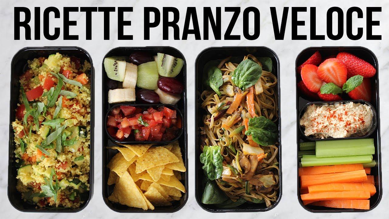 Idee Per Pranzi Sani : Ricette pranzo sano e veloce idee pranzo lavoro e scuola youtube