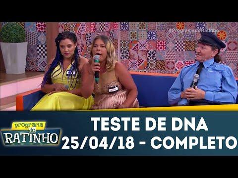 Teste De DNA - Completo | Programa Do Ratinho (26/04/18)