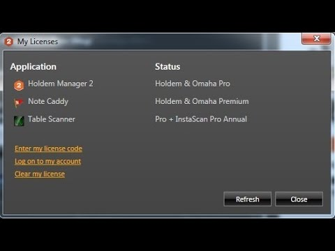 poker strategy hold'em manager 2 keygen