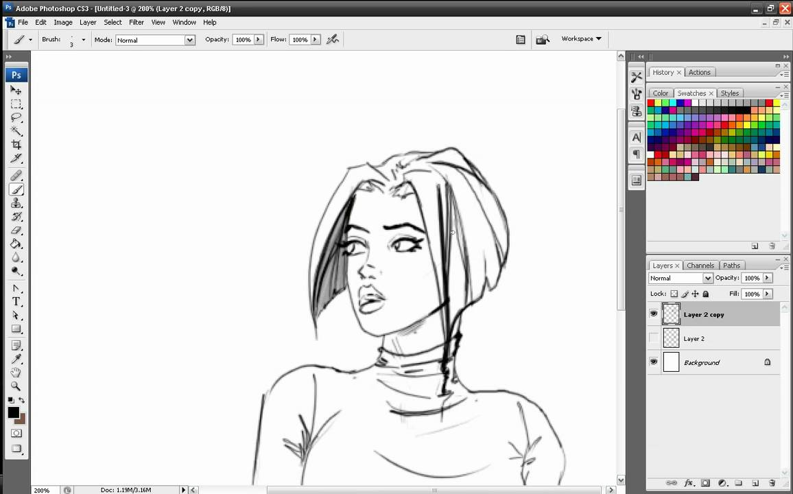 Hair Style References: How To Draw Hair Marvel Style