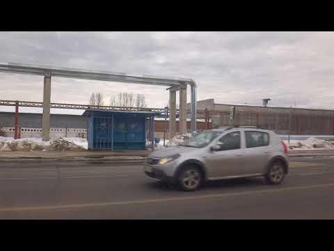 Серпухов, автобус 144, участок Кремёнки -  Заводская