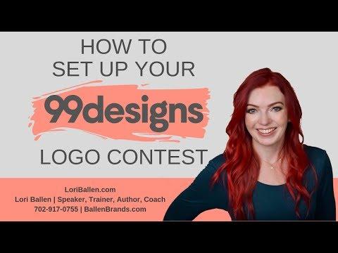 How to set up your 99 designs logo design contest mp3