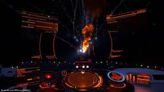 PvP Imperial Cutter Piracy. Going a Bit Off Script (Elite Dangerous)
