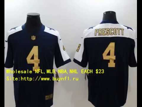 finest selection b294f bd894 Dallas Cowboys 4 Prescott Cheap NFL Jerseys China From buynfl.ru Only $23  Wholesale Price