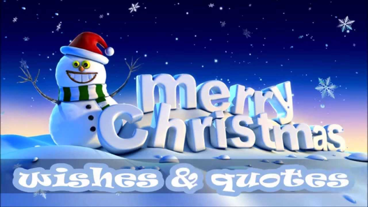 merry christmas 2015 sms wishes greetings quotes images whatsapp video 3 youtube - Christmas Wishes Video