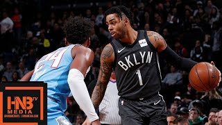 Brooklyn Nets vs Sacramento Kings Full Game Highlights | 01/21/2019 NBA Season