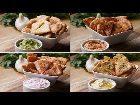 Download Youtube: Pita Chips 4 Ways