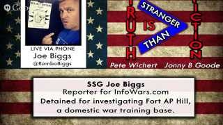 The Truth is Stranger Than Fiction w/ Pete Wichert Guest SSG Joe Biggs Podcast 13