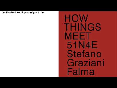 #9 : 51N4E : HOW THINGS MEET // Architecture & Culture Liège