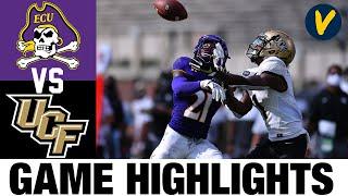 #13 UCF vs East Carolina Highlights | Week 4 College Football Highlights | 2020 College Football