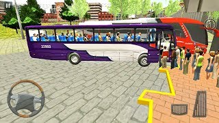 Proton Bus Simulator Road - Brazil Bus Driving on Hilly Road - Android Gameplay FHD screenshot 5