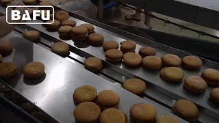 케이크, 빵, 쿠키, 비스킷 자동 포장기, 플로우 팩기…