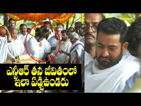 Jr NTR Became Too Much Emotional and Cries...