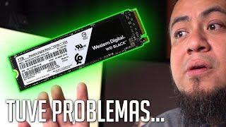 No puedo creer lo monstruoso que es el WD Black SSD NVMe