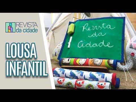 Faça você Mesmo: Lousa Infantil - Revista da Cidade (17/04/19)