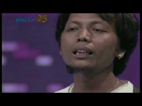 Pujiono - Manisnya negeriku audisi Jakarta - Indonesian idol 2014[karaoke]