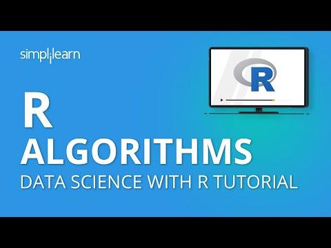 R Algorithms | Data Science With R Tutorial