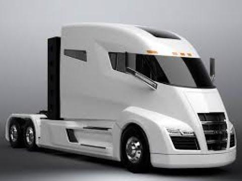 Tesla/mercedes nIkola trucks video electric hydrogen range extender  hybrids