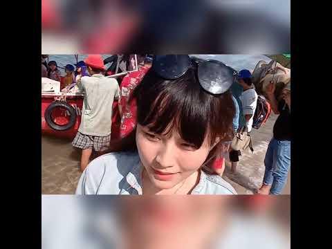 Khám phá ngọn hải đăng_ phát hiện cô gái vẽ tranh trên cát siêu đẹp