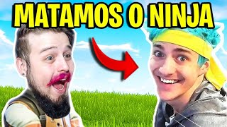 FORTNITE - MATAMOS O NINJA NO ENCONTRO ÉPICO! (I Killed Ninja) Ft. Softe