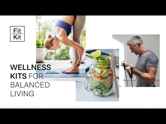 Wellness Kits - Fitness, Nutrition & Stress Reduction