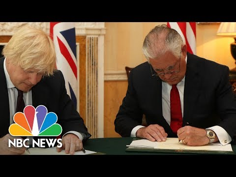 Rex Tillerson Expresses Condolences, Outrage At Manchester Attack: 'ISIS Worships Death' | NBC News