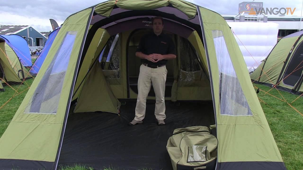 Vango Family Eternity Airbeam 174 Tent Filmed 2013 Youtube