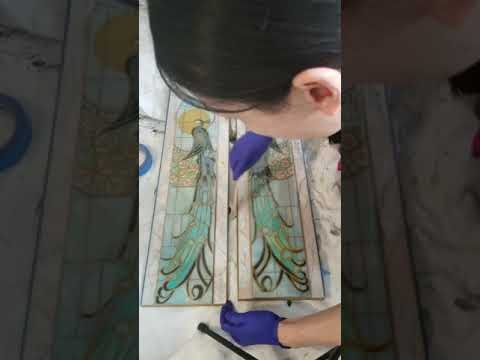 Applying Epoxy Resin