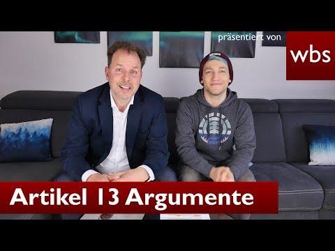 Artikel 13: Argumente der Befürworter widerlegen - Mit Rezo | Rechtsanwalt Christian Solmecke