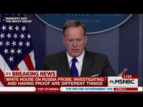 """Sean Spicer says Paul Manafort """"very limited role"""" in Trump's campaign"""