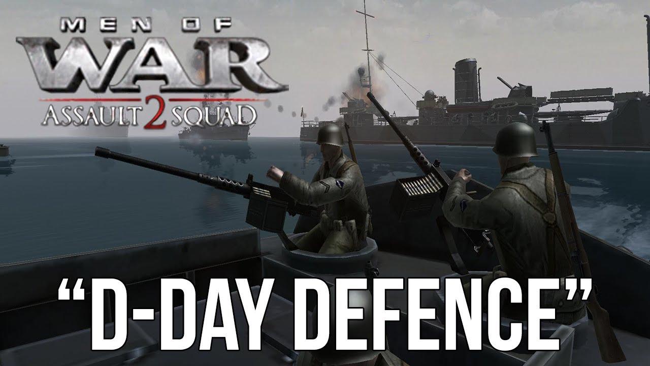 Men of War: Assault Squad 2 - D-Day Defence (Sir Hinkels skirmish pack)