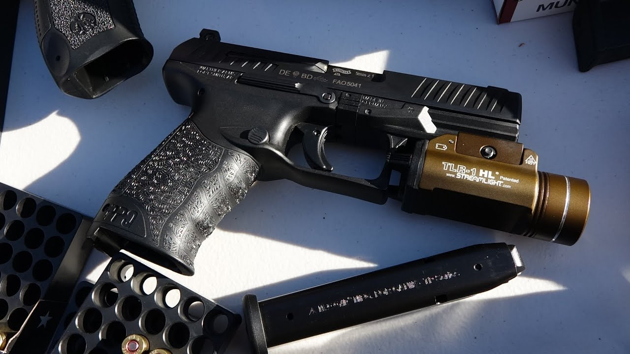 Walther PPQ with Canik TP9SF/SA Magazines