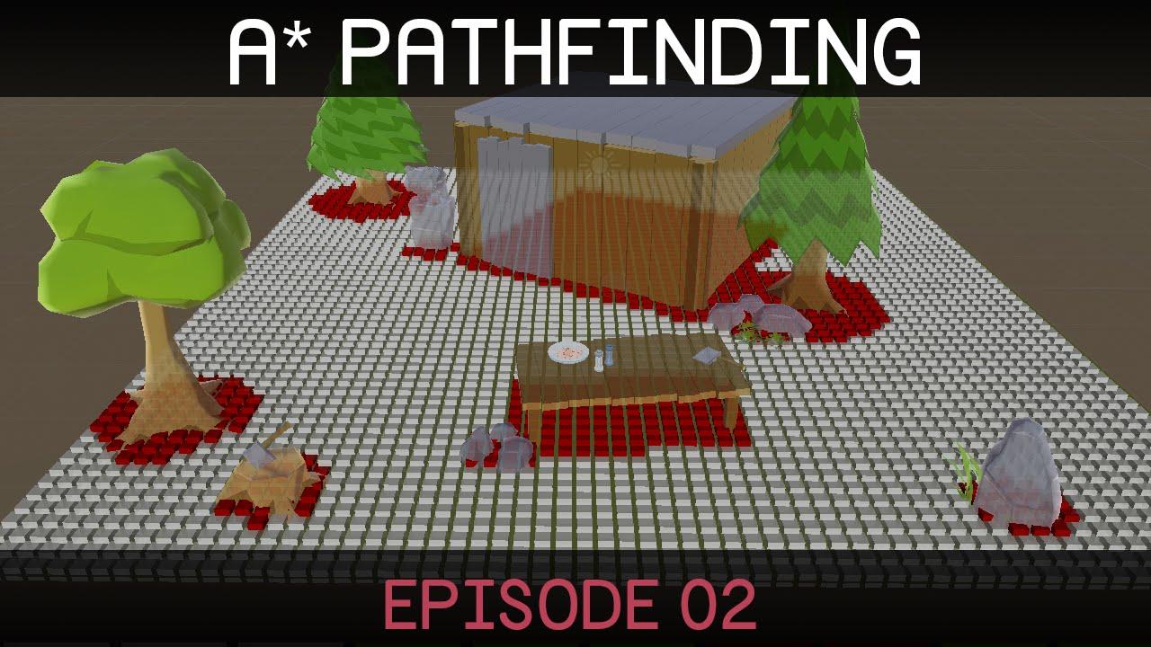 A* Pathfinding (E02: node grid)