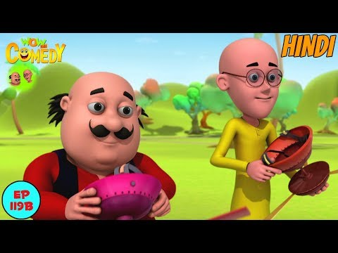 Motu Patlu | April Fool | Cartoon in Hindi for Kids | Funny Cartoon Video thumbnail