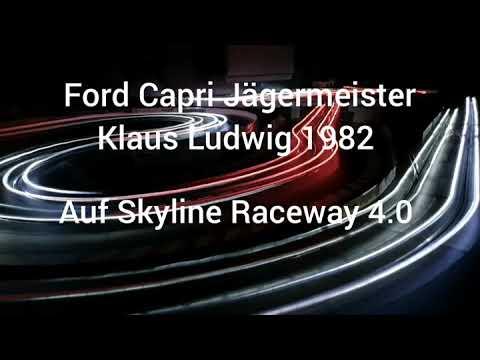 Carrera digital Ford Capri Jägermeister von Sideways auf Skyline Raceway 4.0