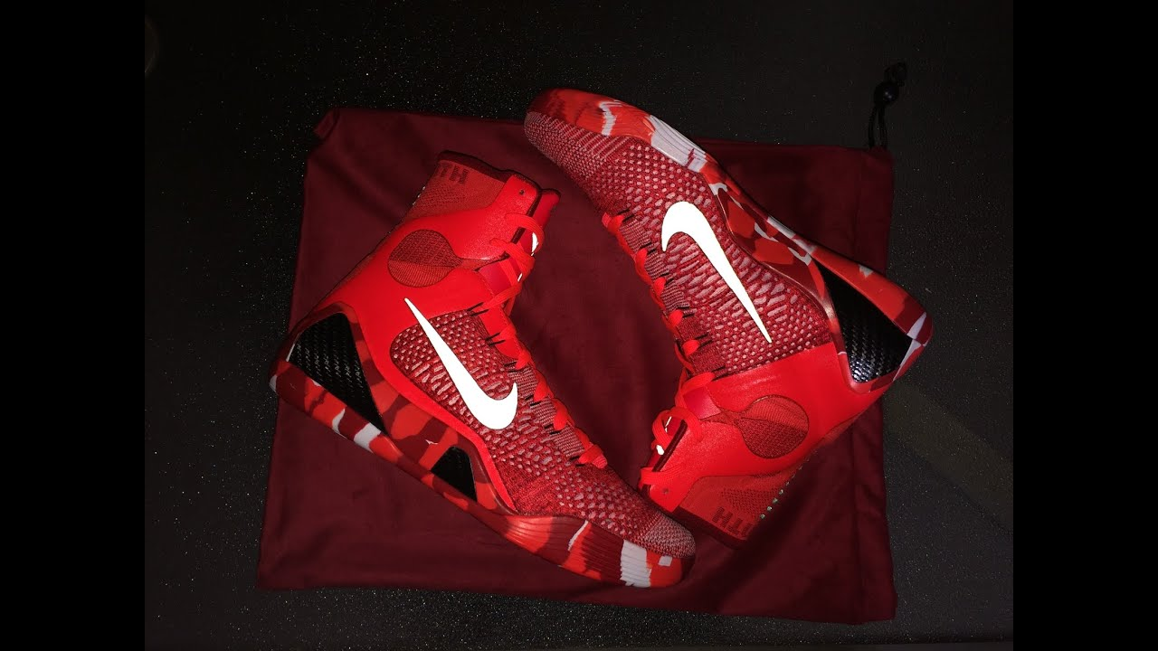 nike kobe 9 elite christmas knit stocking