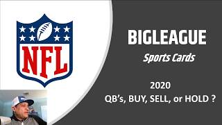 Big League Sports Cards NFL QB Review,  BUY, SELL or HOLD!!