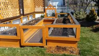 Raised bed garden update zone 6 South Central Pennsylvania  March 7th 2016