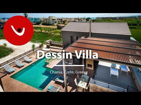 Dessin Villa to Rent in Chania Crete Greece | Unique Villas | uniquevillas.gr