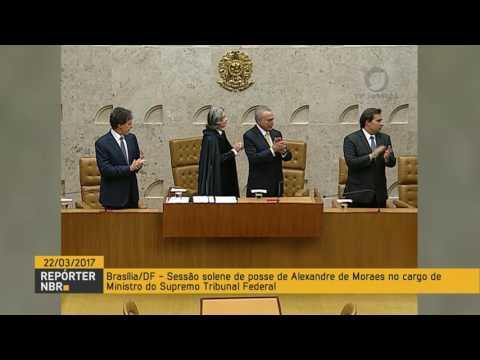 Alexandre de Moraes toma posse como ministro do Supremo Tribunal Federal