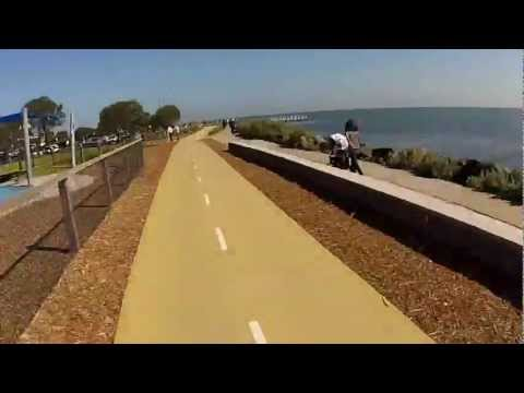 Melbourne Cycling Routes - Beach Road Trail