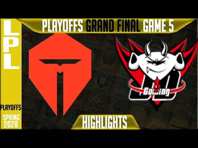 TES vs JDG Highlights Game 5 | LPL Spring 2020 GRAND FINAL | Top Esports vs JD Gaming G5