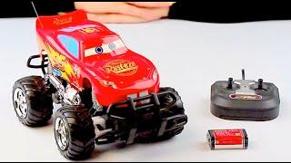 Огляд - розпакування іграшок Р. У. Тачки Арт: DY6605
