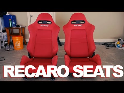Project DC5 [RSX] Ep. 3 - Cleaning Dirty Recaro Seats