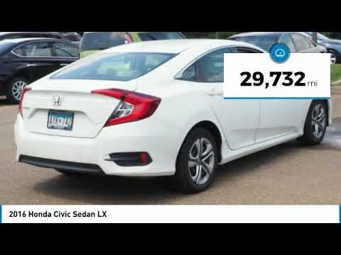 2016 Honda Civic Sedan Inver Grove Heights,St Paul,Minneapolis 21469A